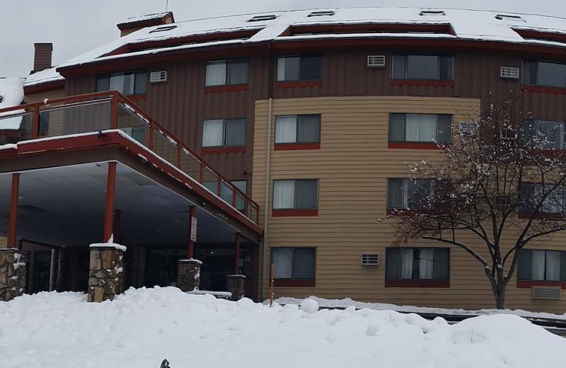 Winter at Black Bear Lodge.