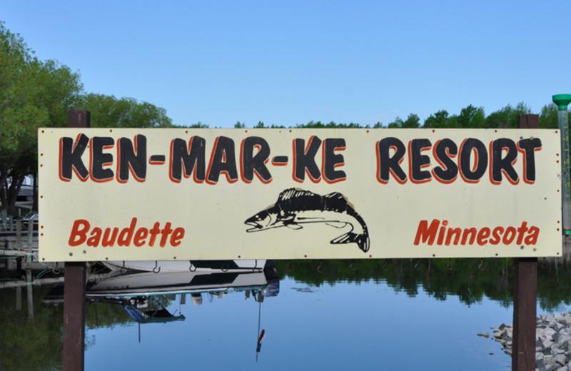Lake view at Ken-Mar-Ke Resort.