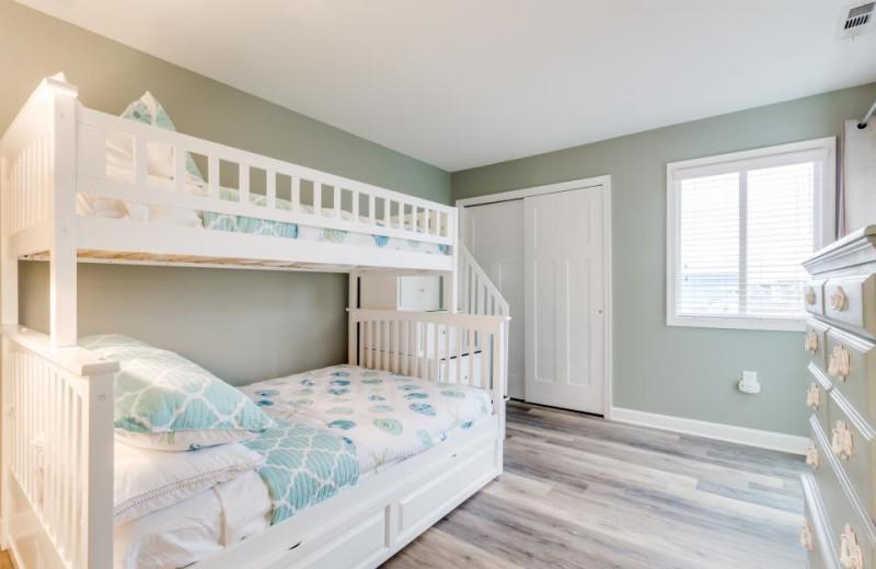 Rental bedroom at Vacasa Ocean City.