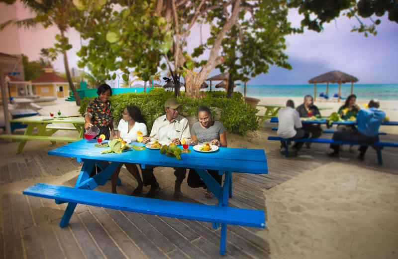 Picnic at Breezes Resort Bahamas All Inclusive.