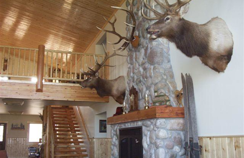 Interior view of Montana High Country Lodge.