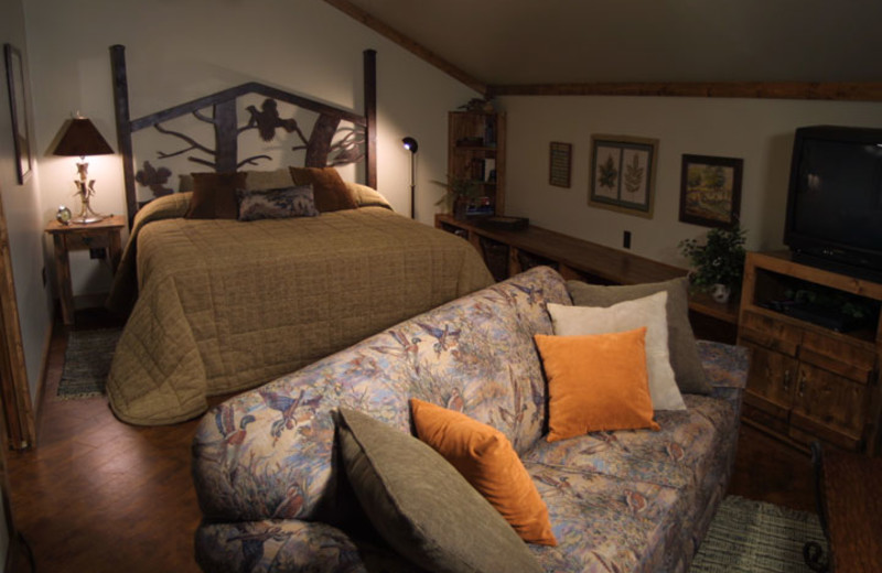 Guest room at Butternut Lake Lodge LLC.