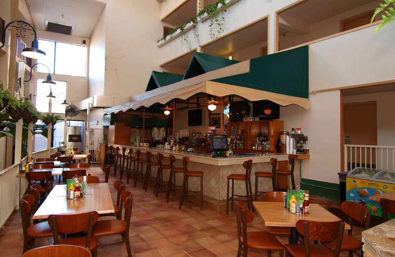 The Atrium Cafe at Quality Inn Oceanfront Ocean City.