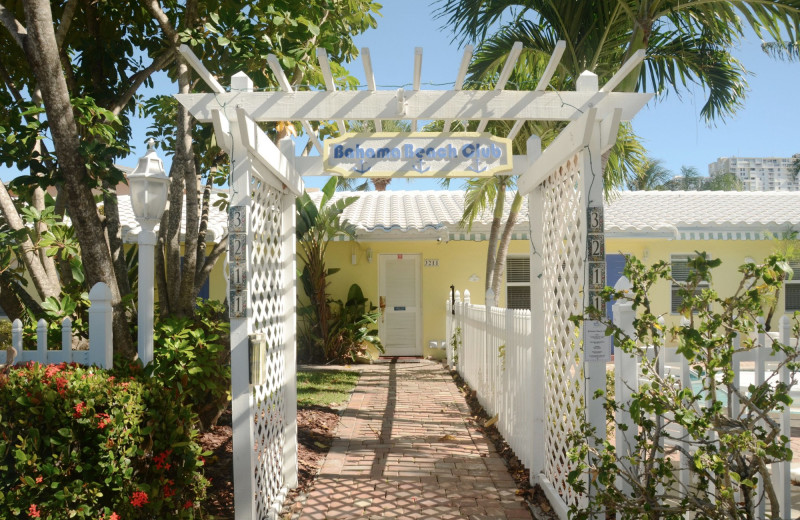 Rental exterior at Beach Vacation Rentals.