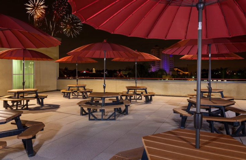 Outdoor Dining at Desert Palms Hotel & Suites