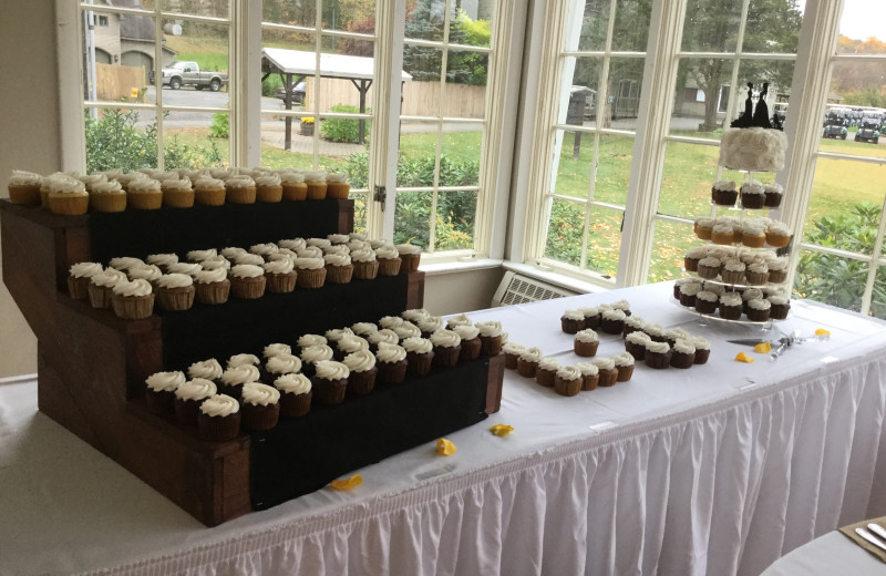 Cupcakes at Water Gap Country Club.