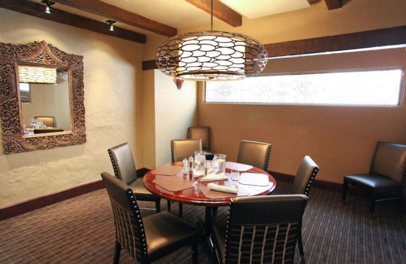 Dining room at Canyon Ranch Tucson.