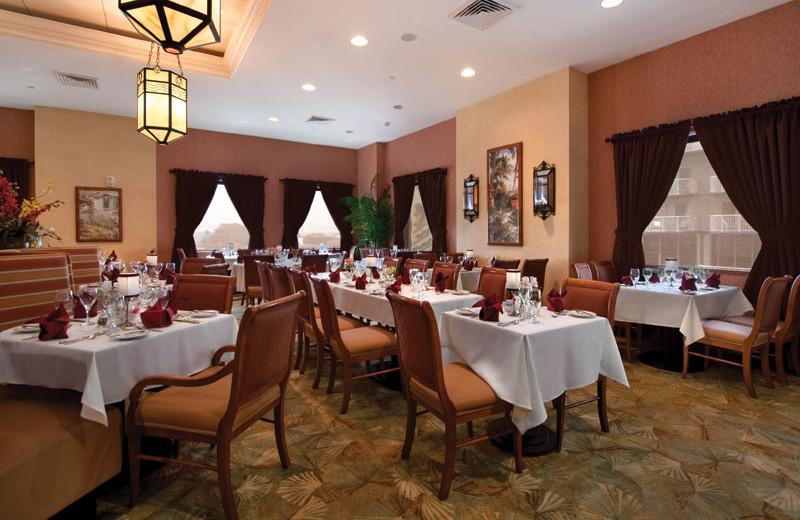 32 Palm restaurant at Hilton Suites Ocean City Oceanfront.
