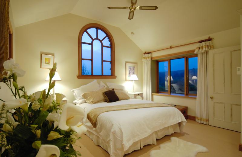 Guest room at Motueka River Lodge.
