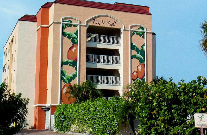 Exterior view of Bay to Beach Resort.