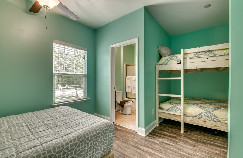 Guest bedroom at Together Resorts.