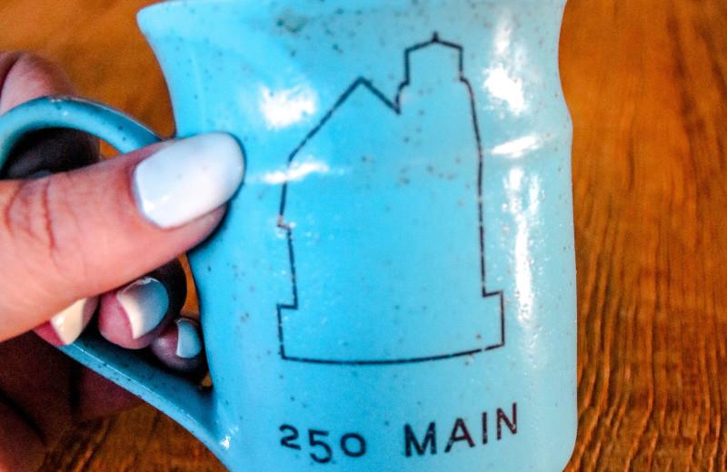 Mug at 250 Main Hotel.