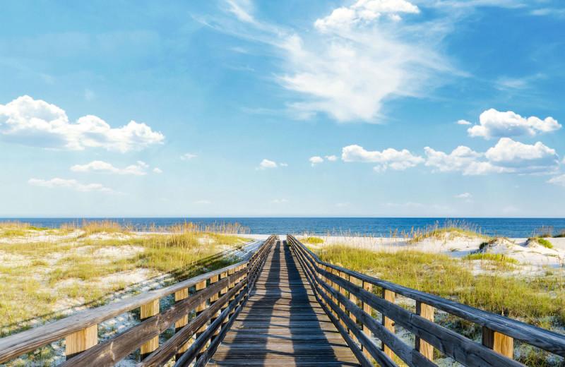 Beach at Gulf Shores Rentals.