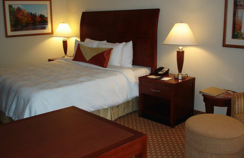Guest room at Hilton Garden Inn Joplin.