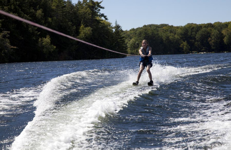 Water skiing at Severn Lodge.