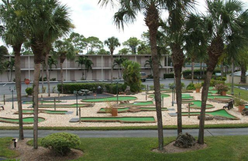 Mini golf at Lehigh Resort Club.