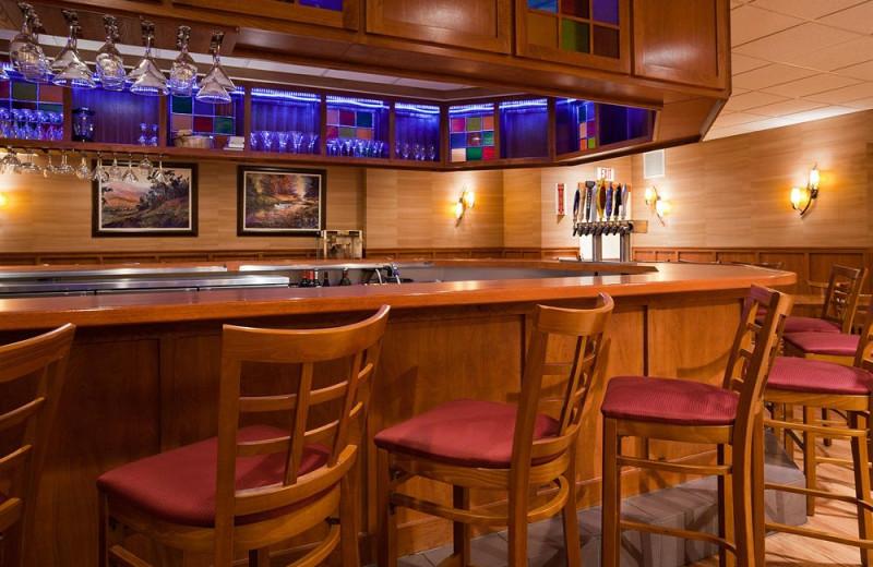 Bar at Holiday Inn Minneapolis.