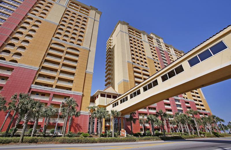 Exterior view of Calypso Resort & Spa.