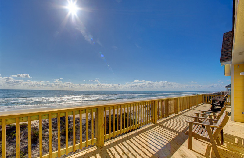 Beach view at Outer Beaches Realty.
