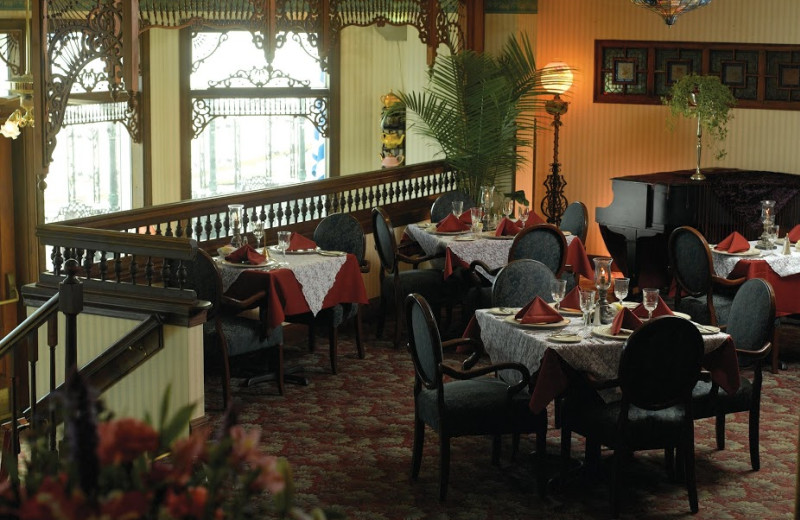 Dining room at Boardwalk Plaza Hotel.