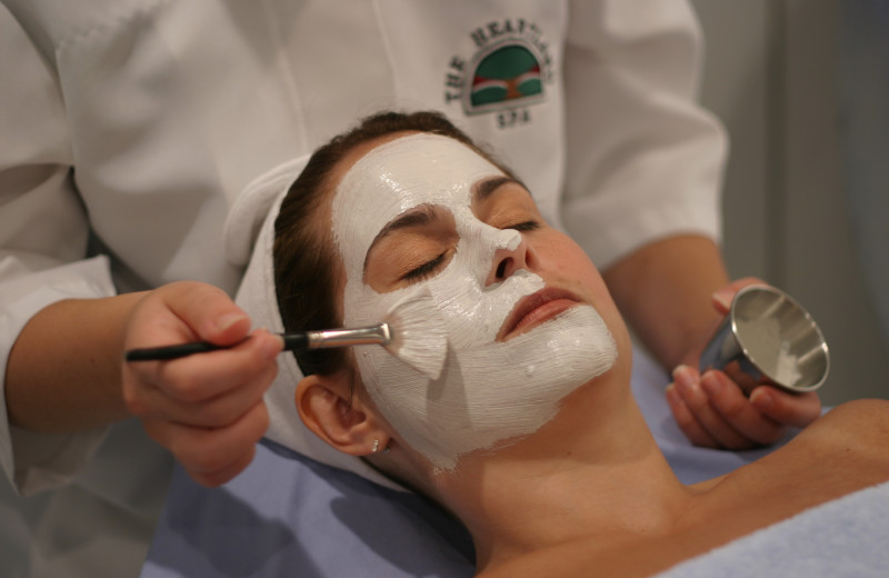 Facial at Heartland Spa & Fitness Resort.
