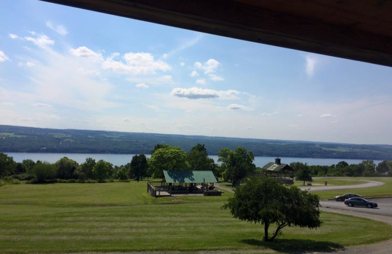 View from The Inn at Grist Iron.