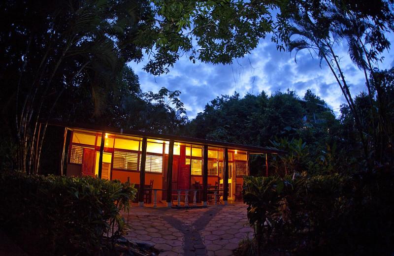 Exterior view of Drake Bay Wilderness Resort.