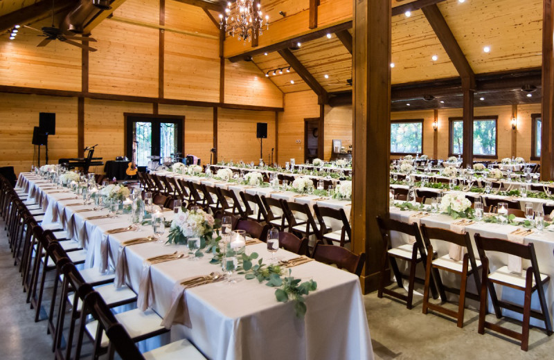 Receptions at Log Country Cove.