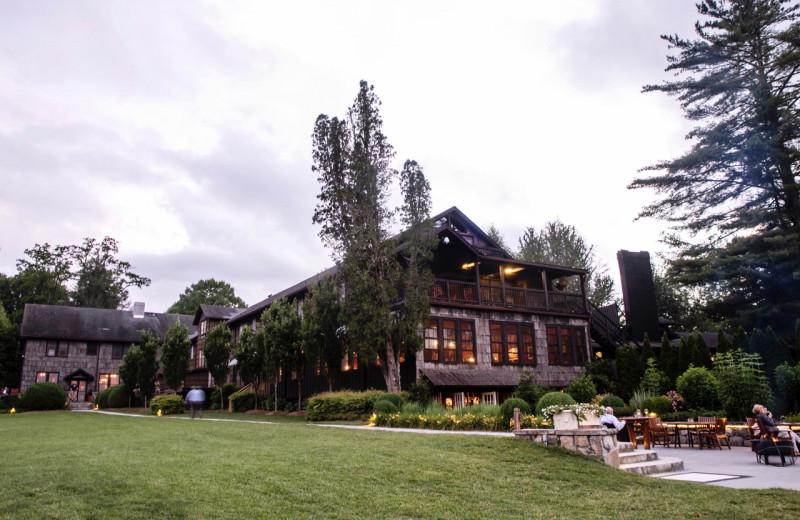 Exterior view of High Hampton Resort.