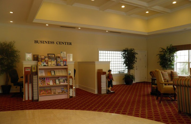 Business center at Brunswick Plantation Resort.