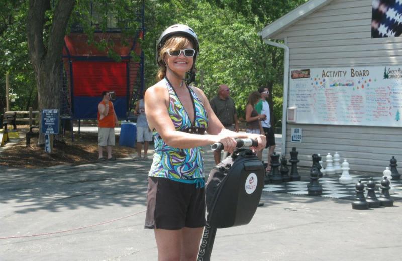 Segway Rentals at Smokey Hollow Campground