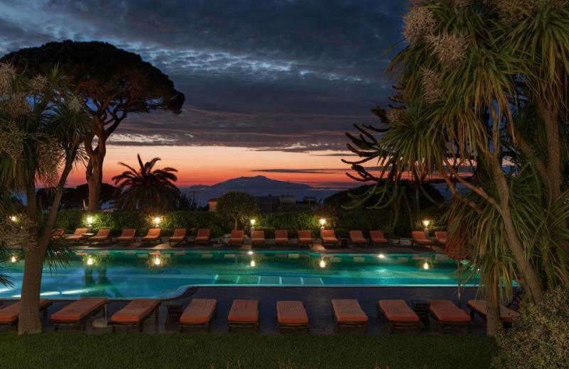Outdoor pool at Capri Palace Hotel and Spa.