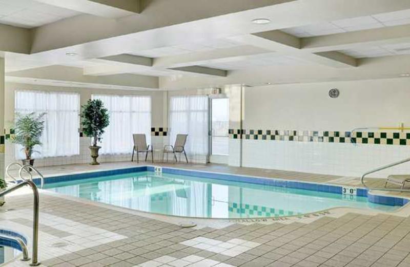 Indoor Pool at the Hilton Garden Inn Kitchener/Cambridge
