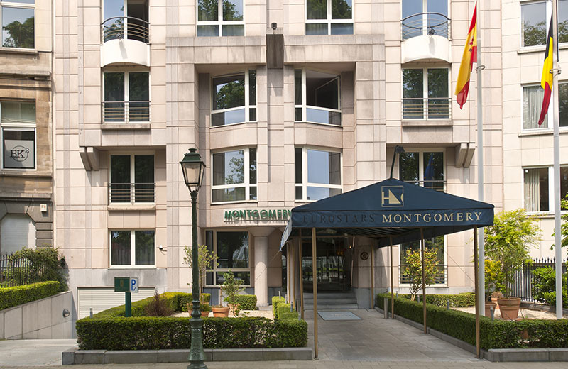 Exterior view of Montgomery Hotel Brussels.