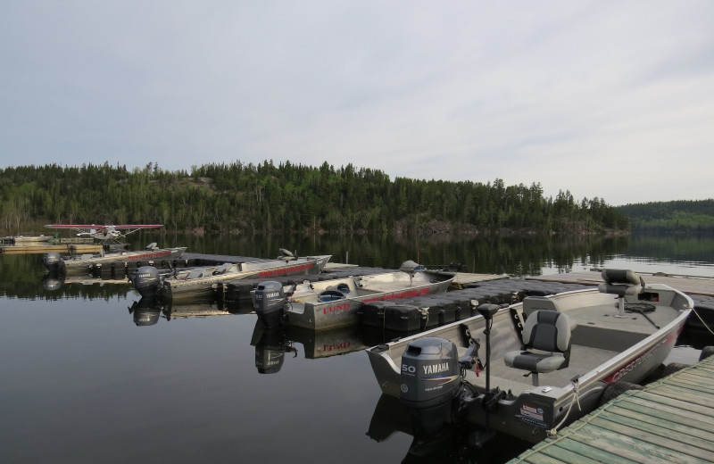 Lake view at Clark's Resorts & Outposts.