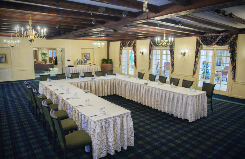 Meeting room at The Spa at Norwich Inn.