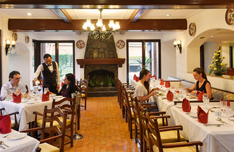 Dining room at Soaltee Crowne Plaza Kathmandu.
