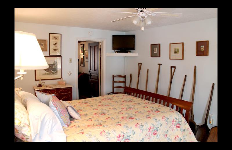 Guest room at Sleeping Bear Bed & Breakfast.