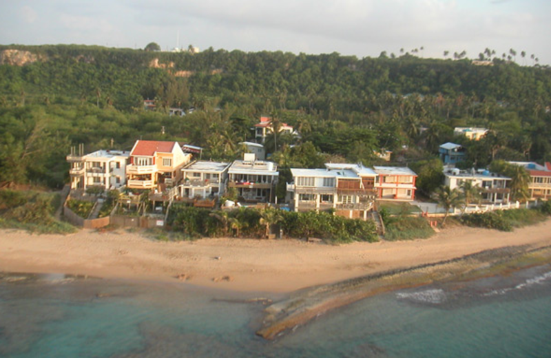 Aerial view of Villa Tropical.