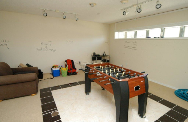 Orlando Private Pool Homes offer optional game rooms at Elite Vacation Homes.