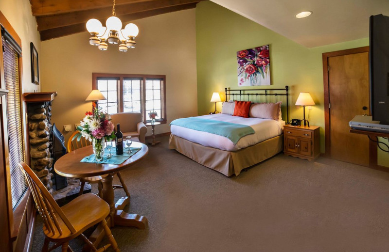 Guest room at La Conner Country Inn.