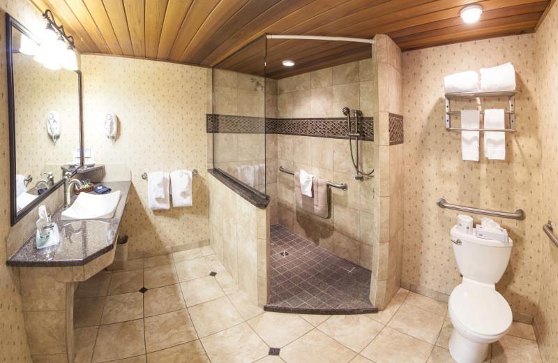 Third Floor Table Top Bathroom with Walk-In Shower