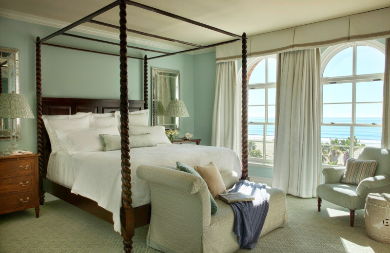 Guest room at Casa del Mar.