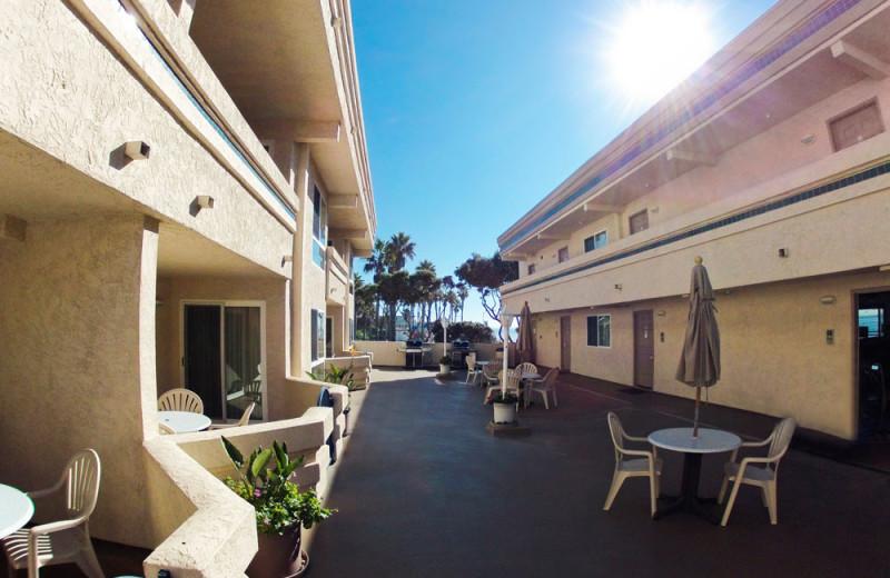 Courtyard at the Southern California Beach Club