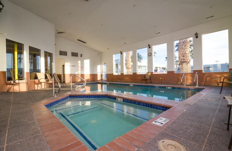 Indoor pool at St. George Inn.