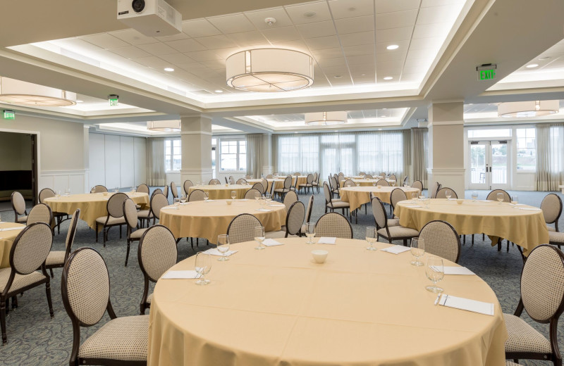 Meeting room at The Inn at Harbor Shores.