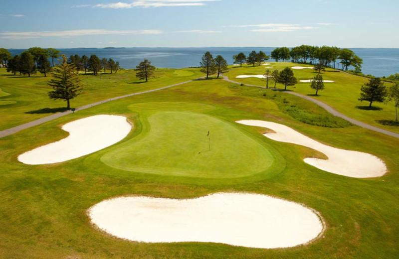 Golf Greens at The Samoset Resort