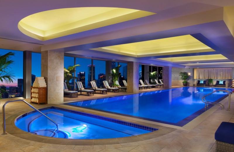 Spa Pool at the Hilton Americas - Houston