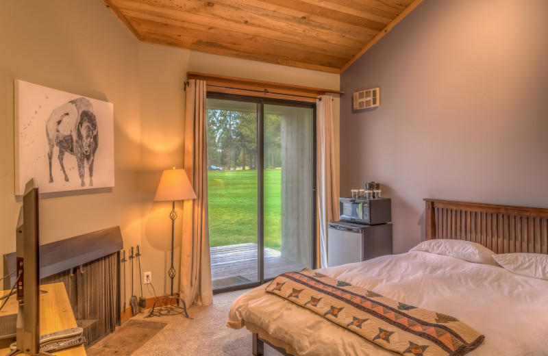 Guest room at Black Butte Ranch.