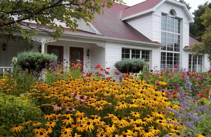 Garden at High Point Inn.